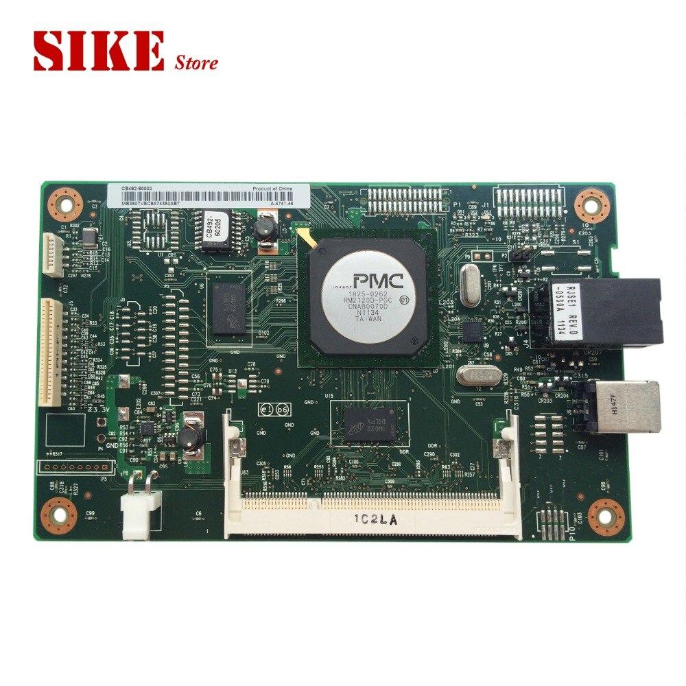CB492-60002 Logic Main Board Use For HP CP2025 CP2025n CP2025dn 2025 2025n Formatter Board Mainboard original binding 32ld350 cb main board eax61354204 0 eax61354203 0 match lc320wxe