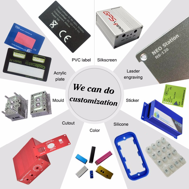 szomk plastic enclosure for electronics plastic case aluminum extruded enclosure housin,2
