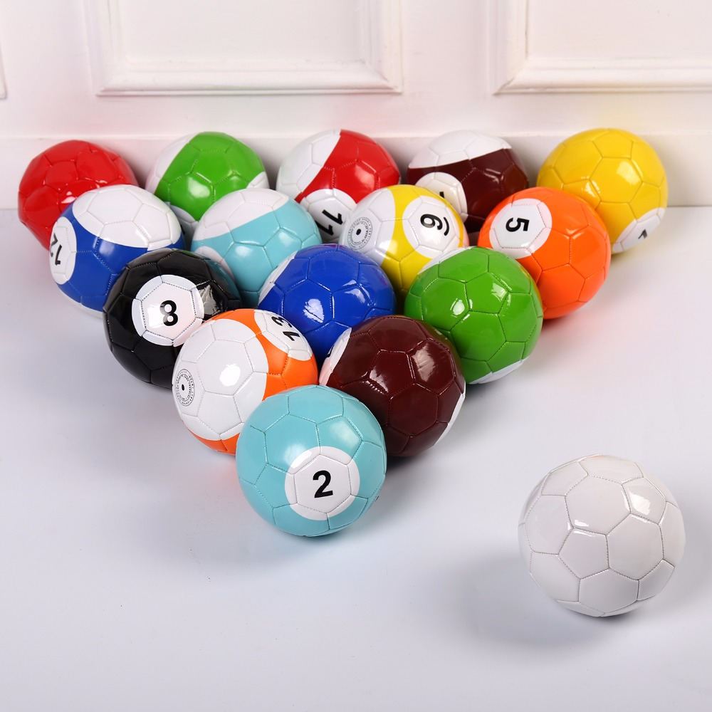4# Gaint Snooker Snook Ball Soccer 8.5 Inch In Snookball Game Huge Billiards Pool Football Include Air Pump Toy Poolball