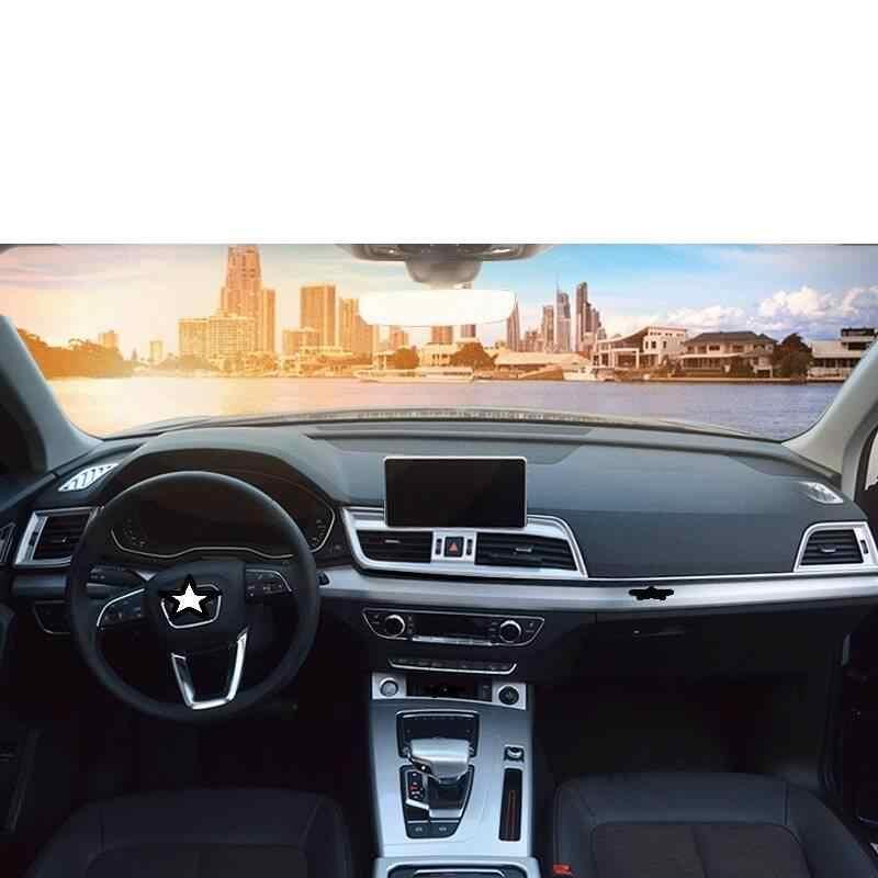 Deur Control System Dashboard Automobile Decoratieve Chroom Verbeterde Auto Styling Decoratie Modificatie 18 19 VOOR Audi Q5L