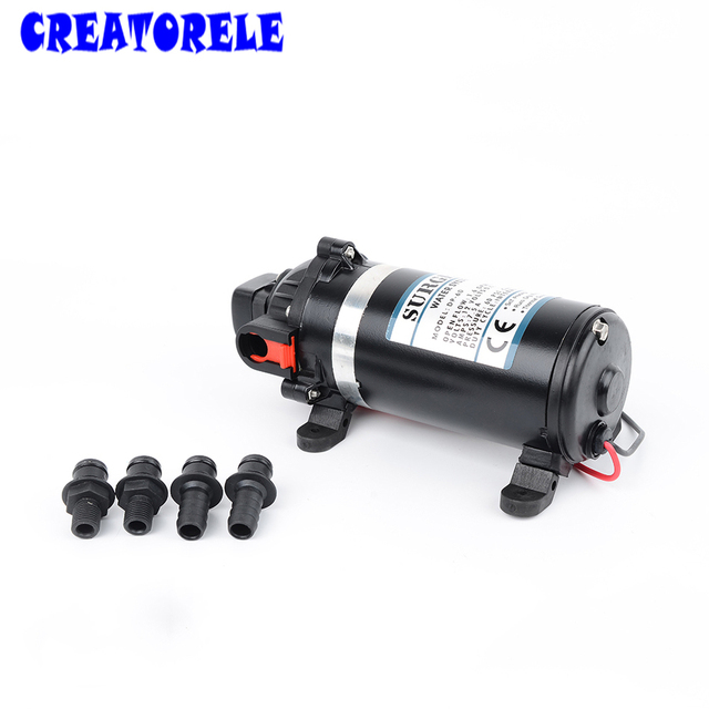 Dp 160 dc 12v diaphragm pump 95m lift submersible for chemical dp 160 dc 12v diaphragm pump 95m lift submersible for chemical 160psi high pressure ccuart Choice Image