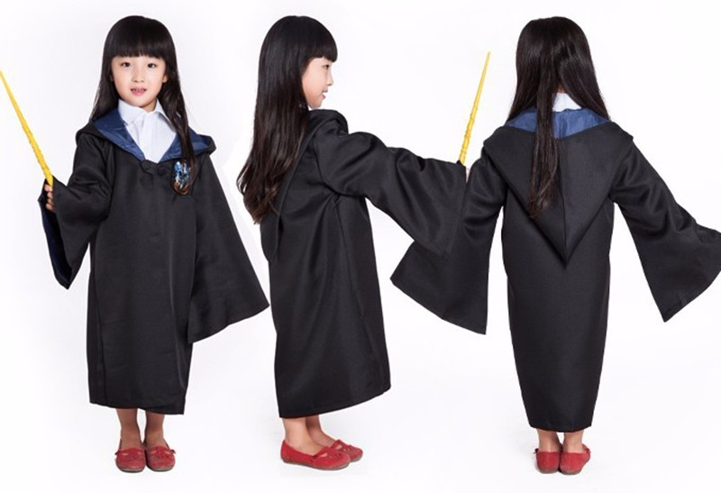 HTB1xmHDakSWBuNjSszdq6zeSpXad - Robe Gryffindor Slytherin Ravenclaw Hufflepuff Cosplay Costumes Kids Adult Cape Cloak Matching Birthday Gifts Harris Costume