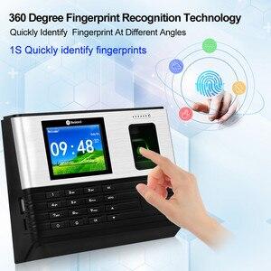 Image 2 - Tcp/Ip/Wifi 2.8Inch Biometrische Vingerafdruk Tijdregistratie Machine Rfid kaart Vingerafdruk Prikklok Systeem, Ondersteuning Batterij