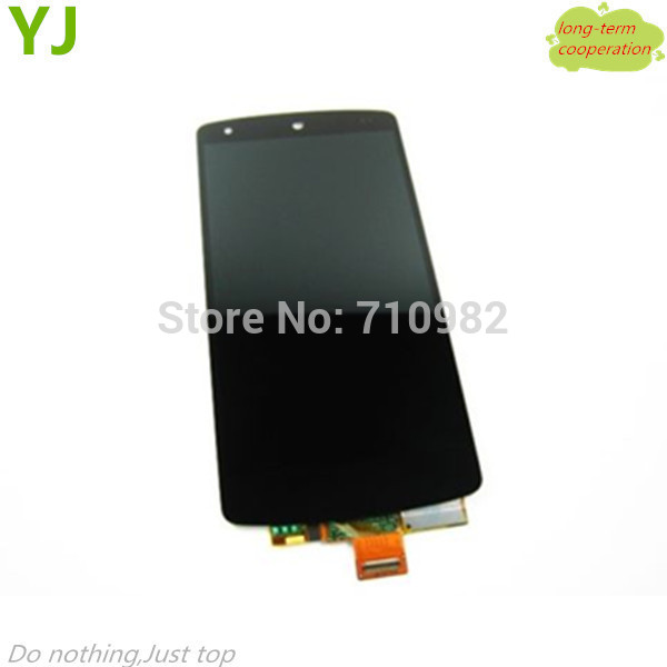 HK free shipping 100% Tested Original LCD Display Touch Screen Assembly with Front Housing for LG Google Nexus 5 D820