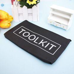 Новый черный набор инструментов из ткани Оксфорд, сумка на молнии, сумка для хранения инструментов, водонепроницаемый чехол, хит продаж, наб...
