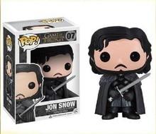 Funko POP Juego de Tronos Jon Nieve, Daenerys Targaryen Vinilo Figura de Acción de Modelo