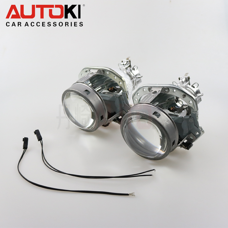 AUTOKI ECE EVOX R HID Bi xenon Projector Lens For AUDI C5 C6 A8 A4 B6
