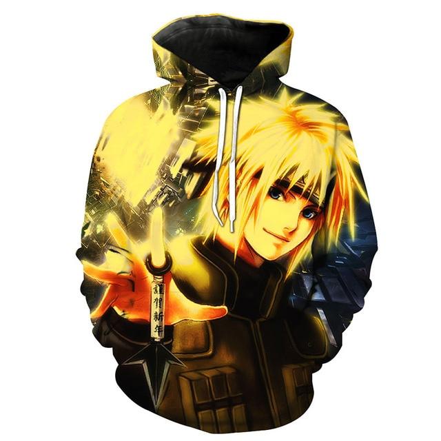 Naruto 3D Print Hoodie – 5 Designs