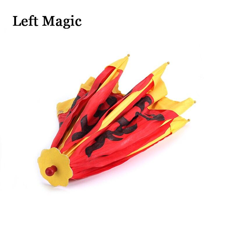 Parapluie changeant de couleur (changement de couleur une fois) Production de Parasol tour de magie parapluie couleur scène accessoires magiques accessoire magique - 6