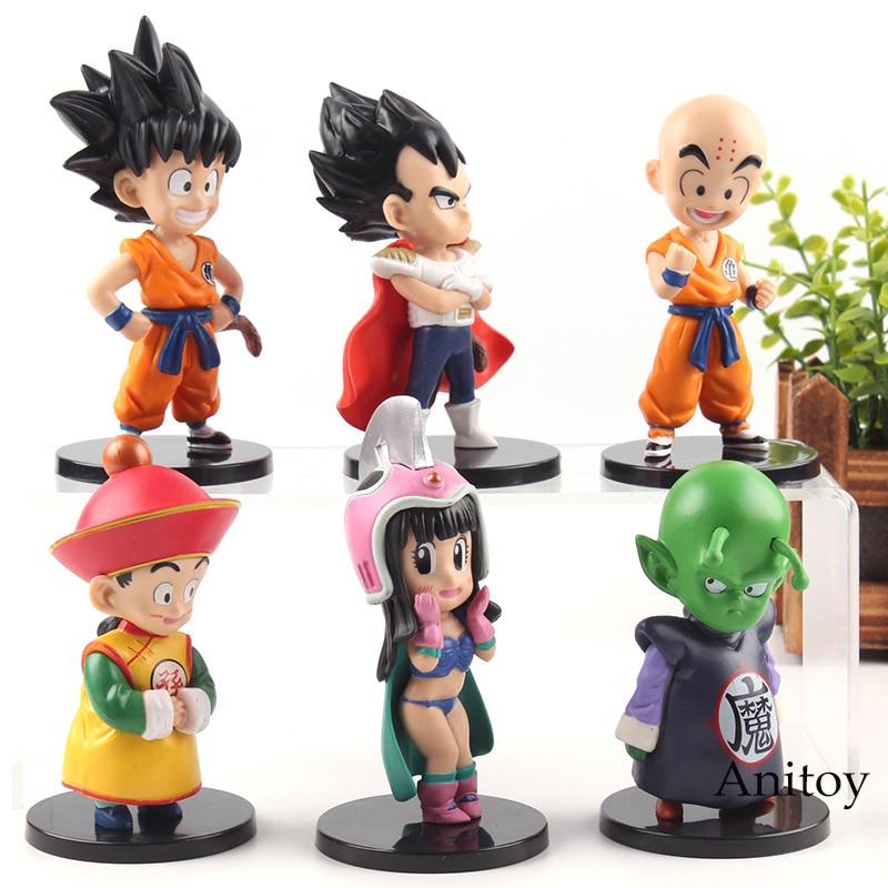 Son Goku Chichi Wedding GK Dragon Ball Anime Figurine Model Statue Collection