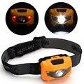 3 W LEVOU Farol Branco Farol 2 LED Vermelho À Prova D' Água Camping pesca Equitação Cabeça da lâmpada cabeça lanterna 4 Modos Lanterna 400LM HA