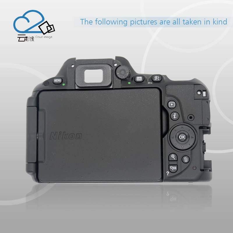 D5500 rear back cover shell with menu button key flex cable for Nikon d7000 rear back cover shell with lcd button fpc for nikon d7000 for nikon