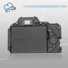 D5500 rear back cover shell with menu button key flex cable for Nikon