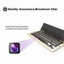 Universal Mini Bluetooth Wireless Folding Keyboard For iOS system For Android For Windows Smartphone Tablet Bluetooth Keyboard