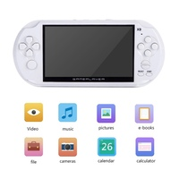 5.0 inch X9 Rechargeable 8G Handheld Retro Game Console Video MP3 Player Camera Handheld Game Players