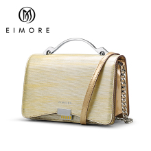 EIMORE Genuine Leather Bags Designer Handbag Women Shoulder Crossbody Bags Women Menssenger Bag Tote Bolsas Feminina цена в Москве и Питере