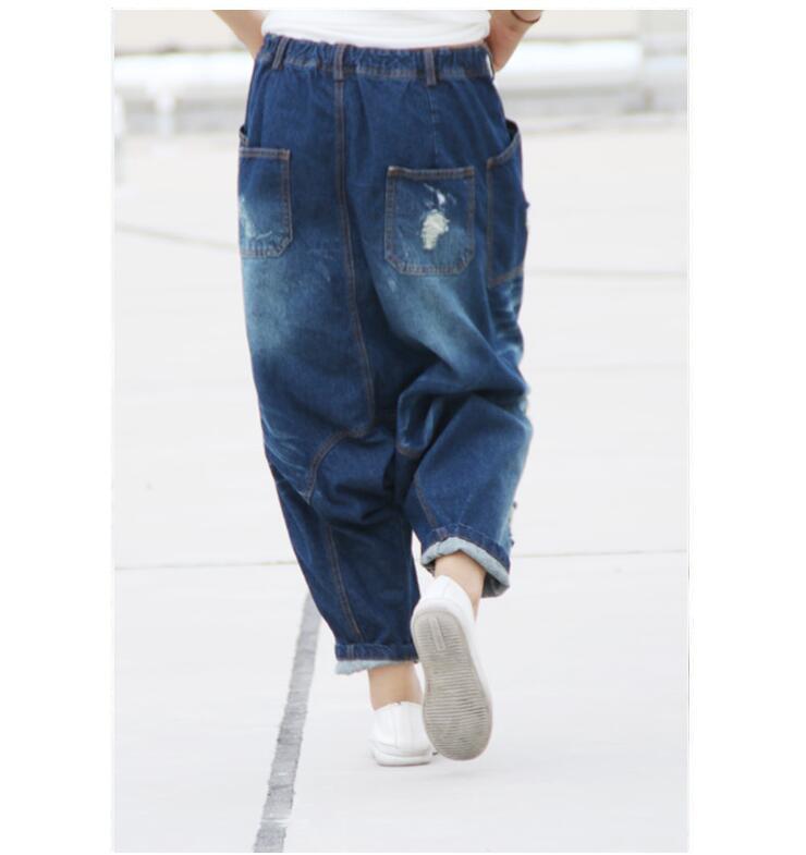 d4e010976f Pantalones 1 Azul 3 Mujer 2019 Moda Plus Casual Jeans Coreano Para Caliente  Las Mujeres Rojo ...
