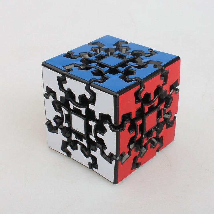 X-cube Gear cube I 3D Cube magique Puzzle jouet (60mm) forme étrange Cube pour les enfants