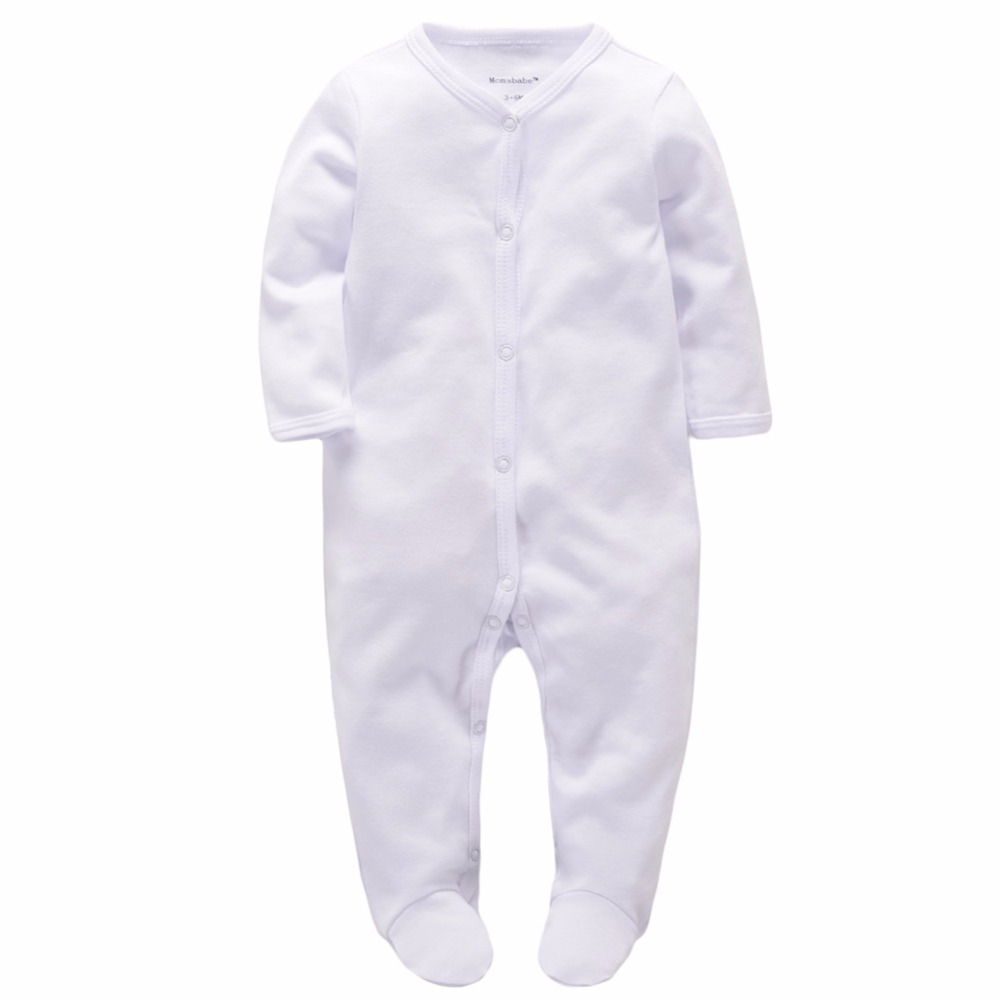 White Cut Babies Romper Baby Boys Girls Clothes Long Sleeve Overalls for children Newborn Jumpsuits Infant Clothing puseky 2017 infant romper baby boys girls jumpsuit newborn bebe clothing hooded toddler baby clothes cute panda romper costumes