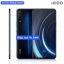 "Original vivo iQOO Mobile Phone 6.41"" 6GB 128GB Snapdragon Octa Core Dual Cameras 12MP+13MP Android 9 4000mAh 44W NFC Smartphone"