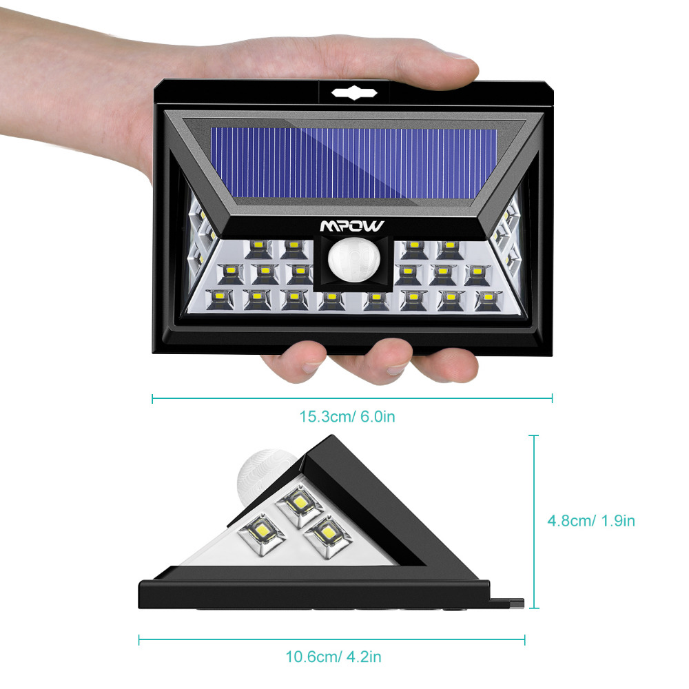 Mpow 24 LED Solar Lamp (9)