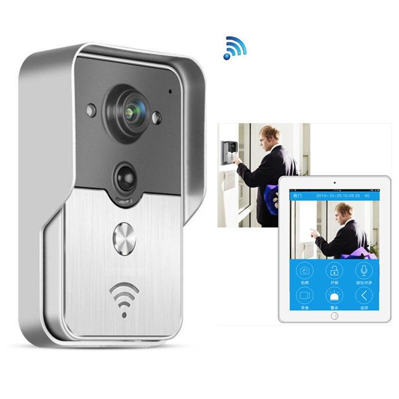 bilder für 720 P IP Wifi Türklingel Kamera Mit Bewegungserkennung Alarm Wireless Video-sprechanlage Phone Control IP Video-türsprech Drahtlose Tür glocke
