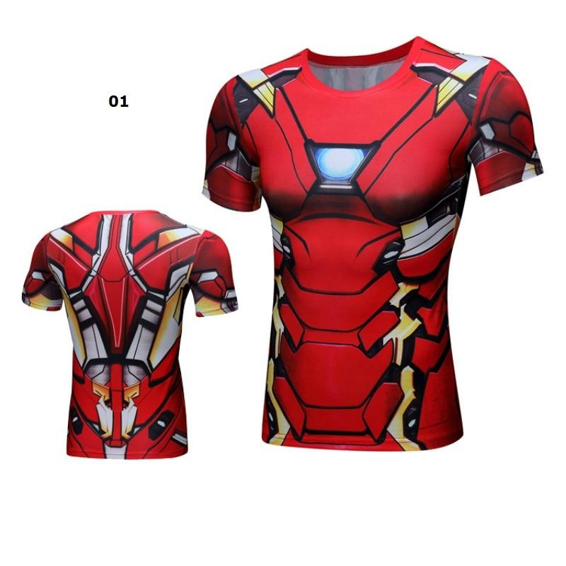 Lustige T-Shirt Superhero Party Männer Tank Top Elastische Canotta - Kostüme