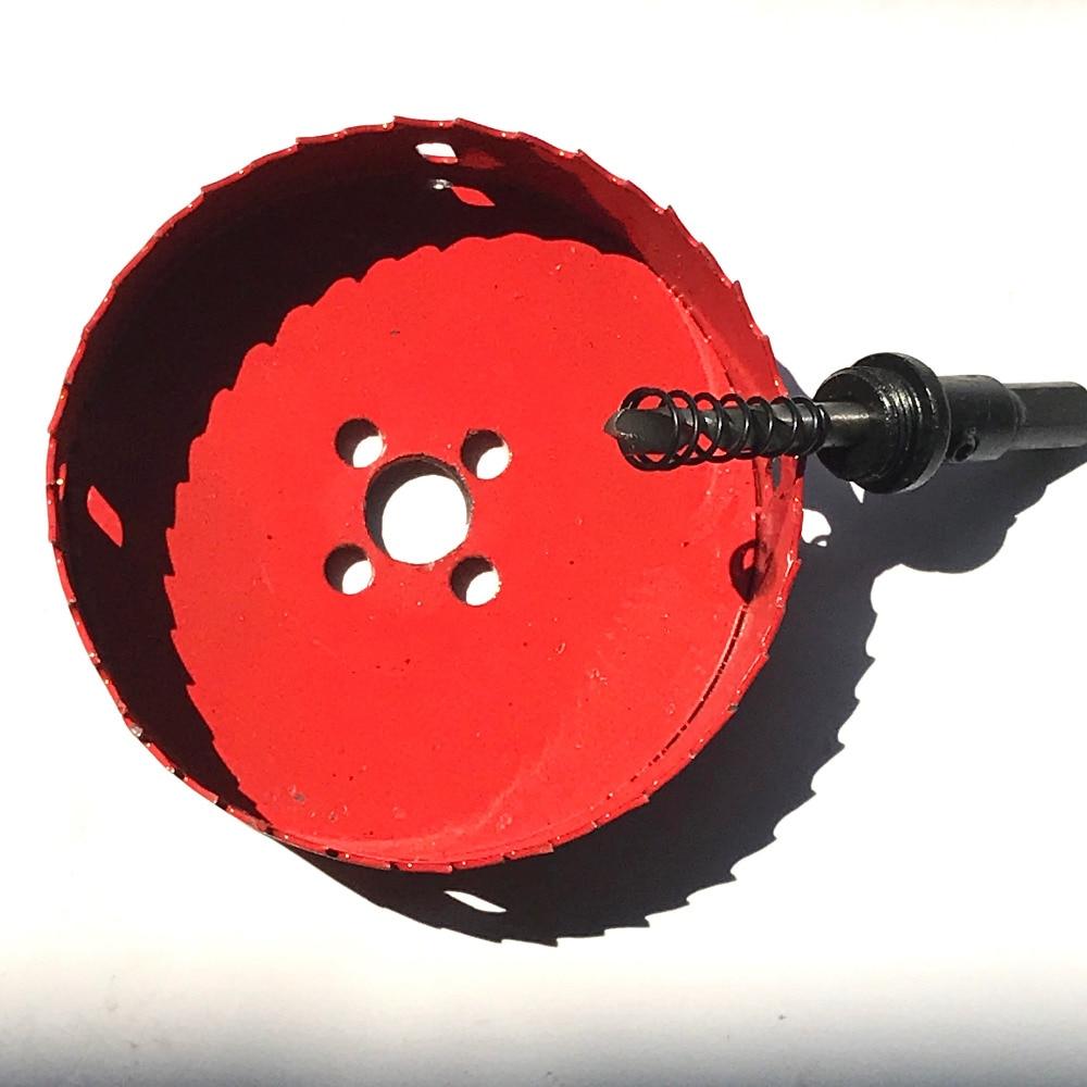 Nemokamas pristatymas 1vnt 53-100mm HSSM42 pagamintas bimetalinis - Grąžtas - Nuotrauka 4