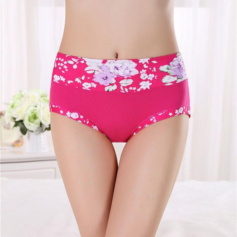 New Panties Underwear Women Seamless Floral Briefs Cotton Underpants Printed Calcinhas Girls Sexy Lingeries Panty Ladies Boxer