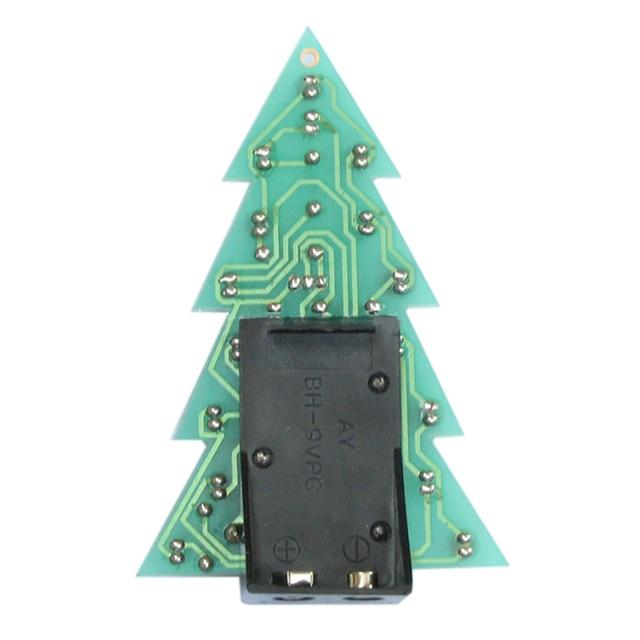Uesh Christmas Tree Led Flashing Lights Water Lights Electronic Technology Small Diy Production Of Small