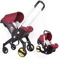 4 In 1 Autostoel Kinderwagen Baby Wieg Wogen Draagbare Reizen Systeem Doona Kinderwagen met Comfort Baby Auto seat
