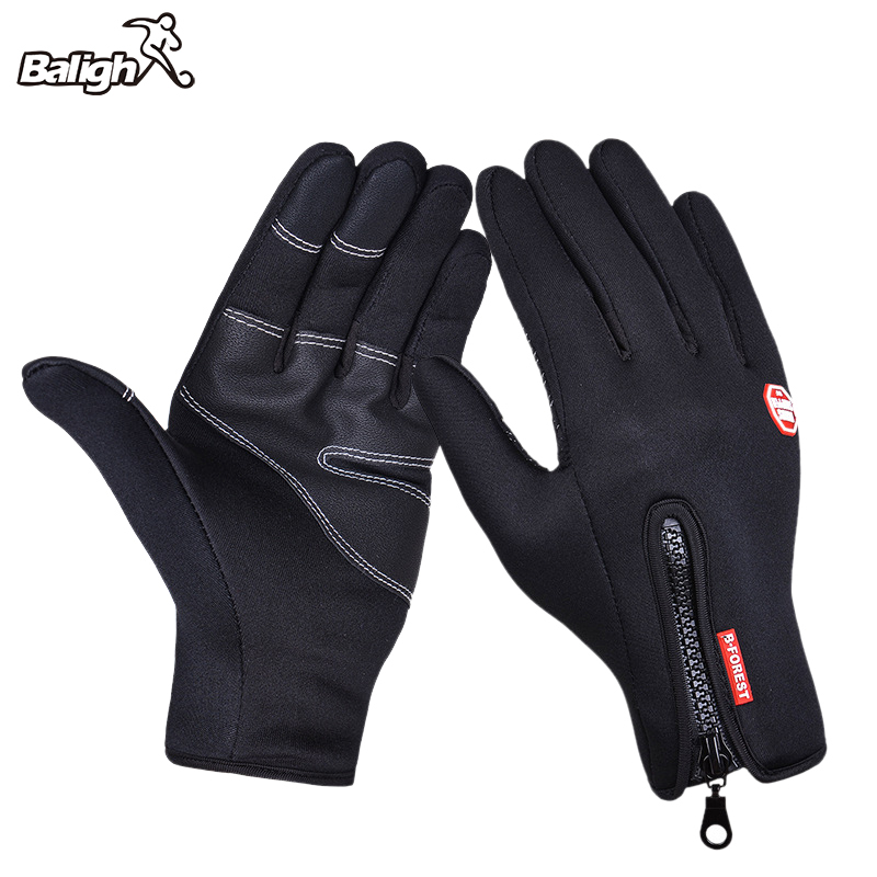 Bicycle-Gloves Sport-Glove Outdoor Cycling Full-Finger Warm Windproof Men/women