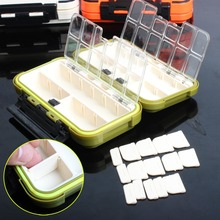 Sougayilang New Arrived Fishing Tackle Box Compartments 4Color Fish Lure Line Hook Fishing Tackle Fishing Accessories Box