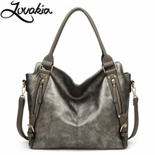 LOVAKIA brand handbag women shoulder bag female casual large tote bags artificial leather ladies hobo