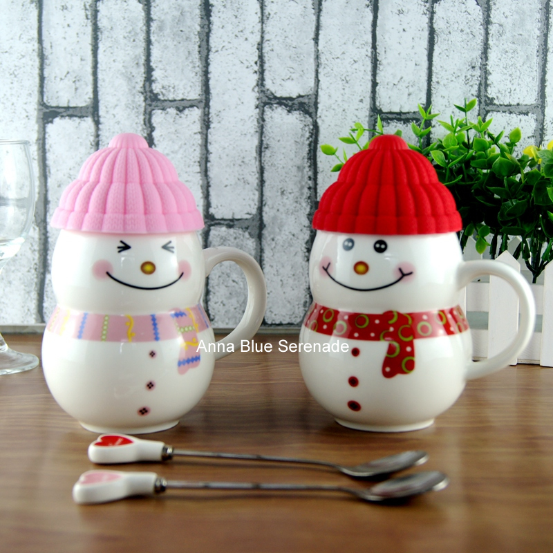 Online buy wholesale snowman mugs from china snowman mugs for Cup snowman