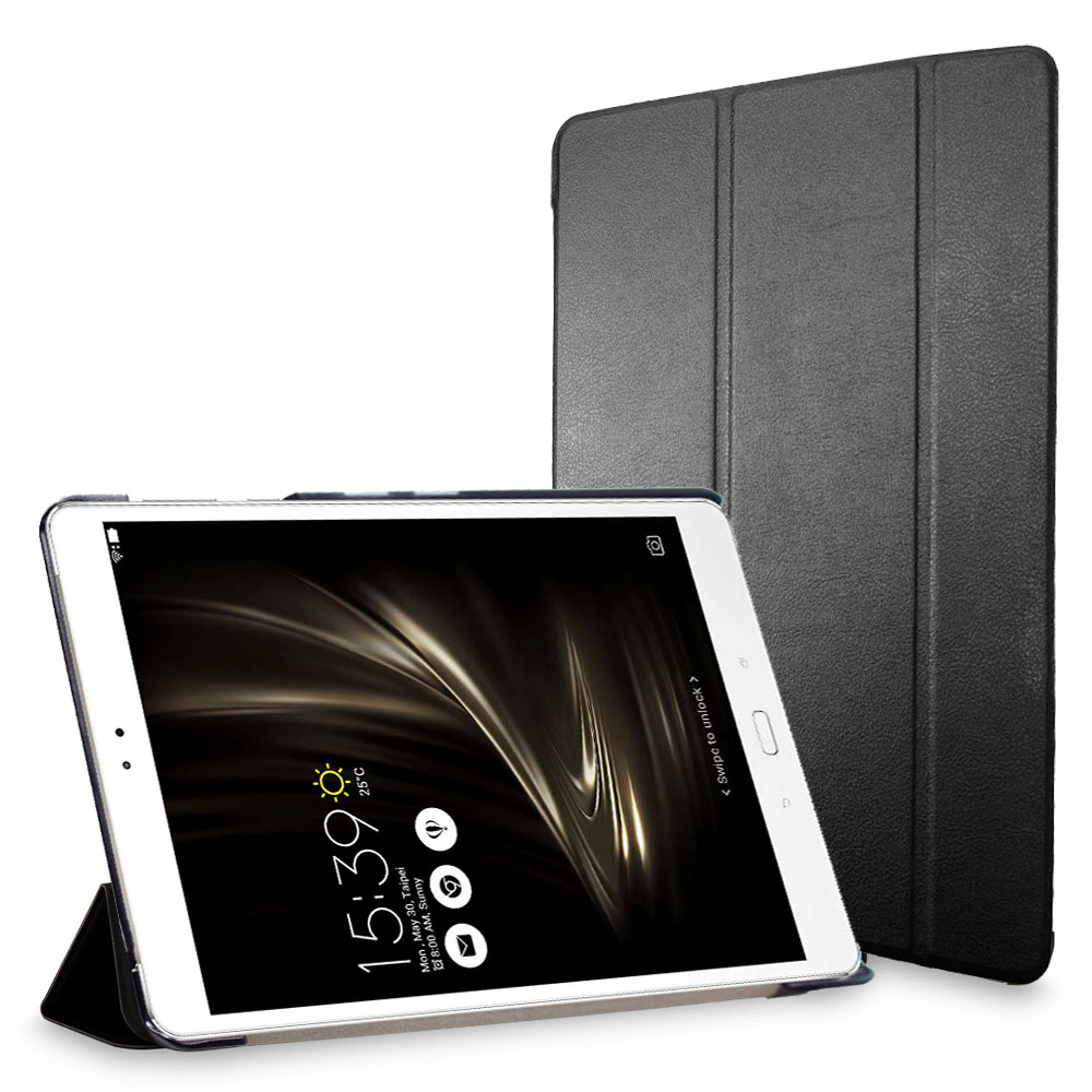 Stand Cover For ASUS ZenPad 3S 10 9.7 inch Z500M C1 GR Tablet leather smart case with triple folding magnetic auto sleep awake dste for jvc gr d290ah gr df570gr d246 gr d290us gr df590 smart digital 1 5a dual charger compatible bn vf733u battery