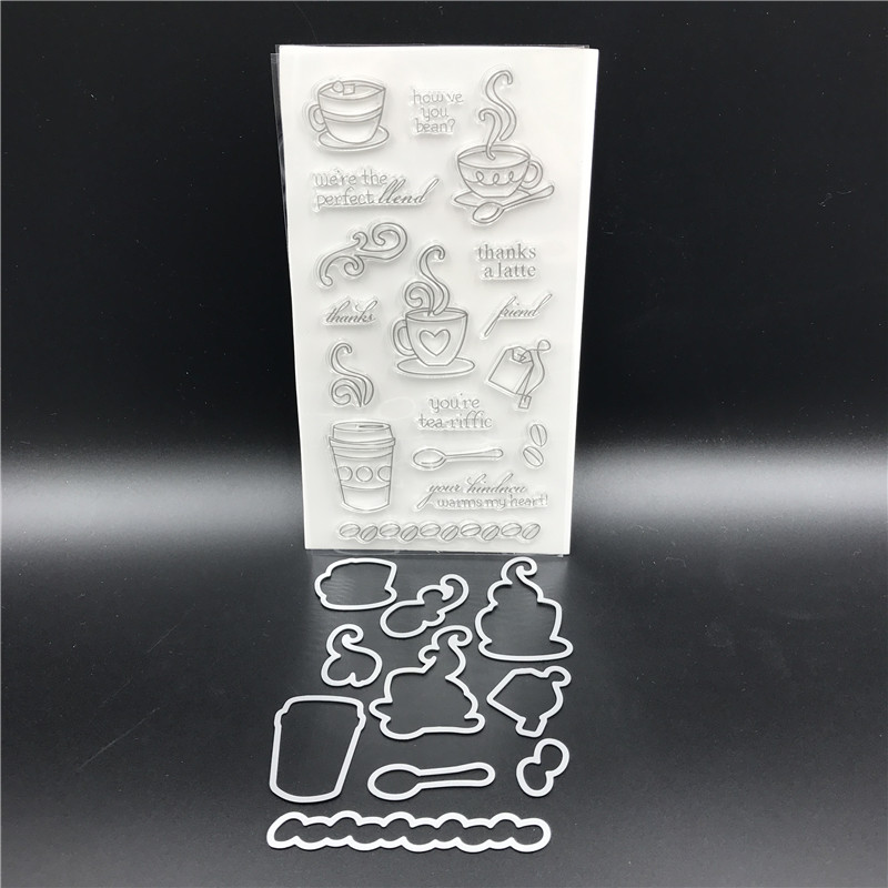 Afternoon Tea Metal Cutting Dies and stamp Stencils for DIY Scrapbooking/ Decorative Embossing DIY Paper Cards Making A559 afternoon tea metal cutting dies and stamp stencils for diy scrapbooking decorative embossing diy paper cards making a559