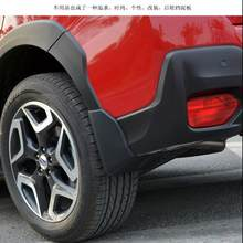 Car Styling Accessories For Subaru XV 2018 Mud Flaps Splash Guards Mudguard Fender With Screws Car-Styling Sticker 2019 4pcs(China)