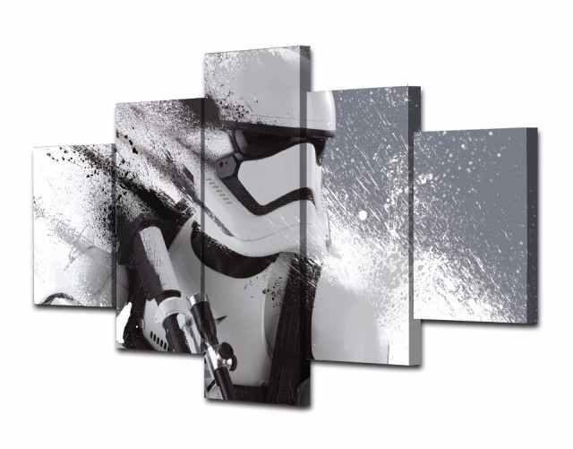 Star Wars Wall Painting (5pcs) – Trooper (big)