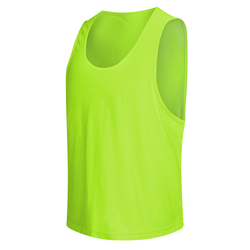 Cheap Team Practice Youth Training Vest Breathable Group Competition Clothing Sport Football Volleyball Basketball Soccer Jersey