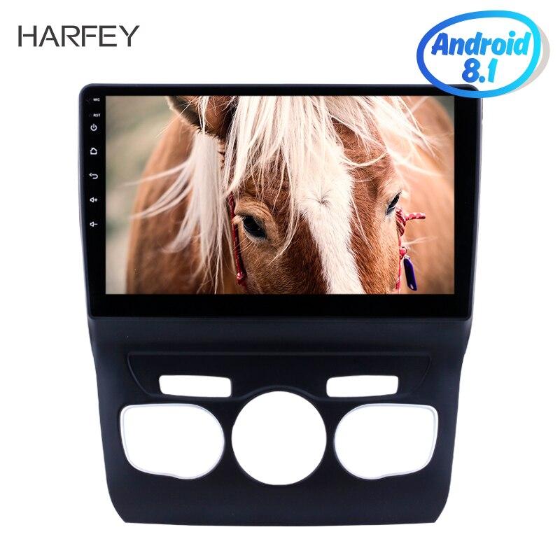Harfey car multimedia player 10 1 Android 8 1 GPS Navigation Bluetooth Radio for 2013 2016