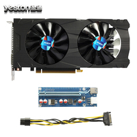 Yeston GTX 1050Ti 4G GDDR5 128 Bit Gaming Desktop Computer PC Video Graphics Cards 6 Pin