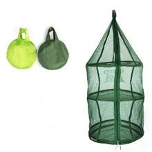 3 Shelf Hanging Zipper Storage Net Organizer Bag Outdoor Tools Food Folding Tableware Drying Net Food Antifly Tent accessories