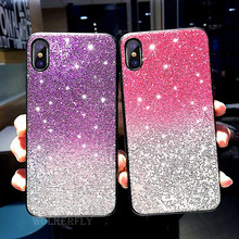Bling Rainbow TPU Silicone Case For Huawei Honor 8C 8X 7A 7C 9 10 Nova 4 3 3i P10 P20 Pro Mate 20 Lite Y5 Y9 P Smart 2019 Plus(China)