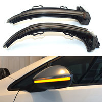 For Audi A4 S4 Rs4 B9 2019 A5 S5 Rs5 Dynamic Turn Signal Led Light Side Wing Rearview Mirror Indicator Sequential Blinker