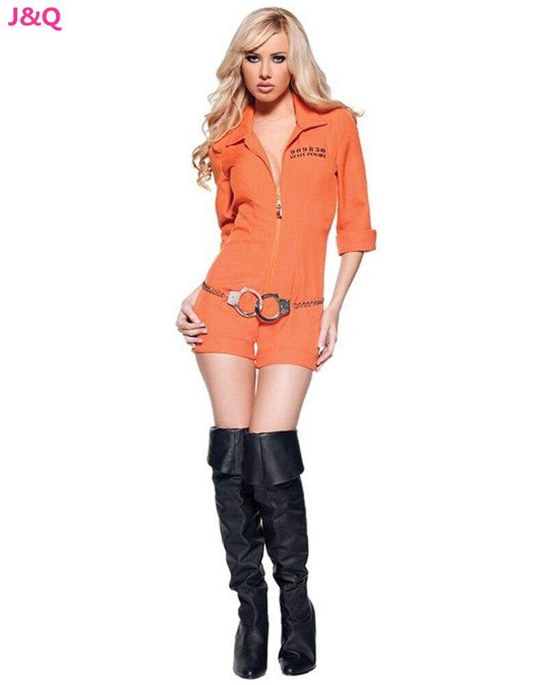 Online Buy Wholesale orange jumpsuit halloween from China orange ...