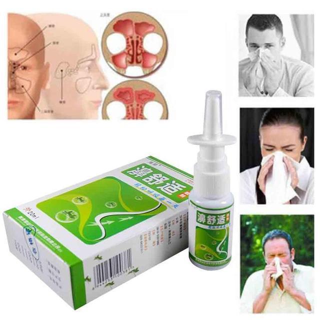Traditional Medical Herb Spray Nasal Sprays Chronic Rhinitis Spray Chinese Rhinitis Treatment Nose Care Health Care Tool 5