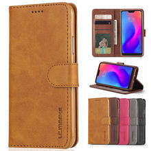 Flip Leather Case For Xiaomi 6X 5X A1 A2 Redmi K20 6 7 4A 4X 5A 5 Plus Pro Redmi Note 7 4 4X 5A 5 6 Pro Coque wallet Phone case(China)