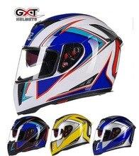 2016 Зима GXT ABS Бездорожью анфас мотоциклетный шлем G358 двойной линзы Мотокросс мотоциклетные шлемы 13 цветов размер Ml XL