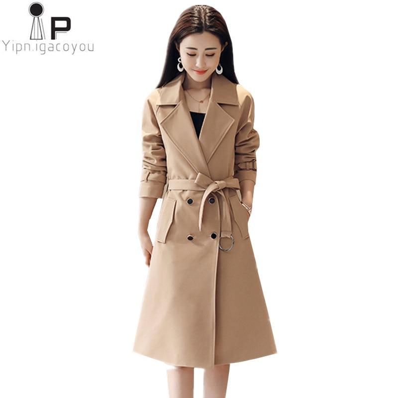 94f448d2bbb4f Korean-Long-Coat-Women-Windbreaker-Befree-Plus-Size-Black -Double-Breasted-Trench-Coat-Women-Overcoat-Elegant.jpg